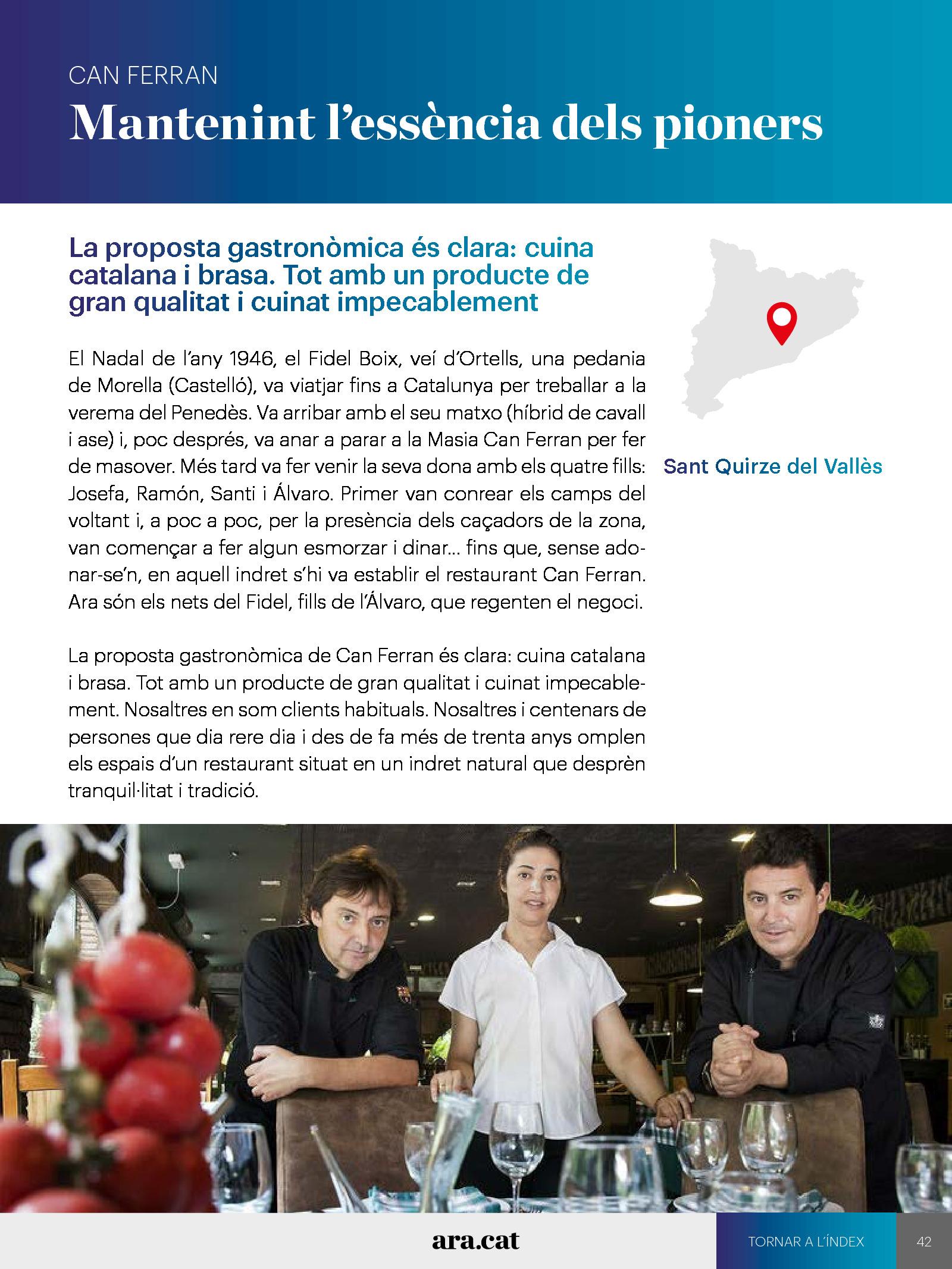 La volta gastronòmica a Catalunya 3
