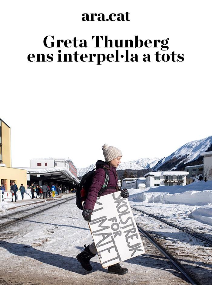 Greta Thunberg ens interpel·la a tots