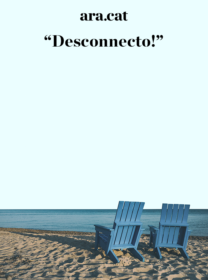 Desconnecto!