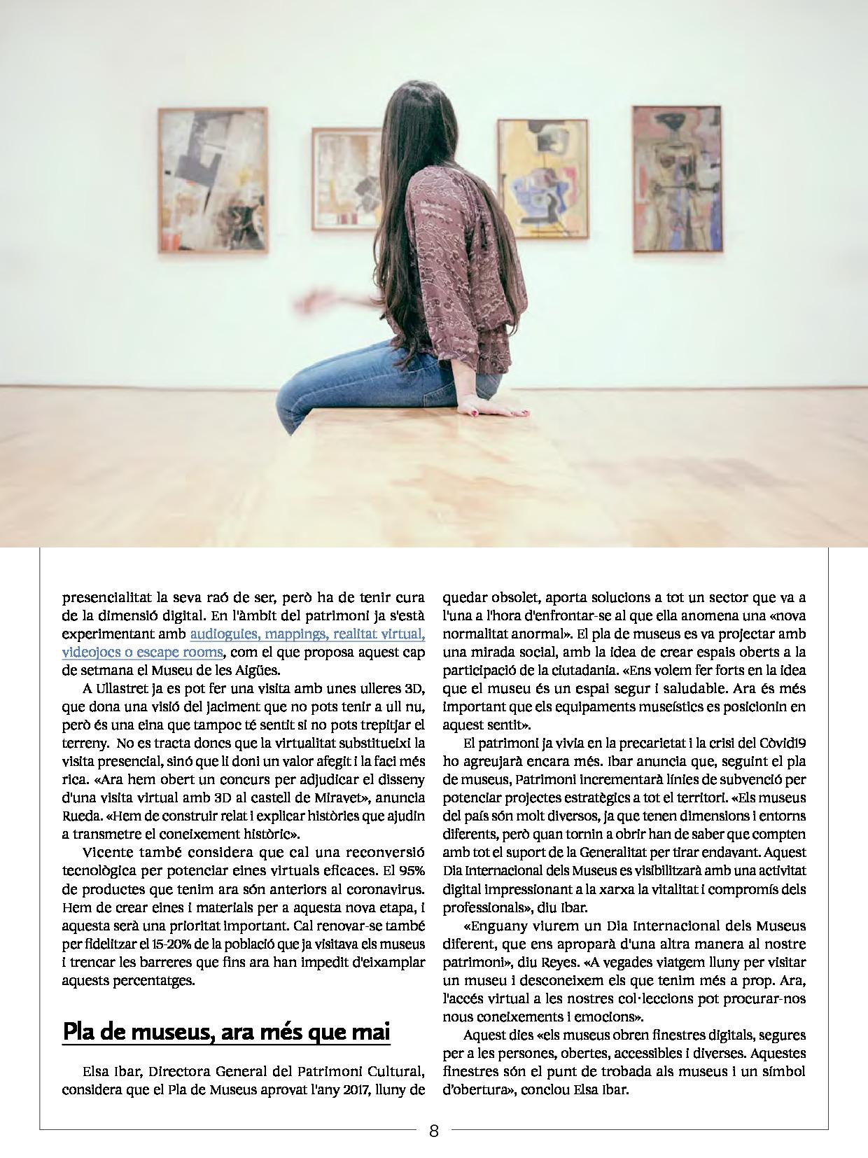 Revista Núvol Dia Internacional dels Museus 2020 1