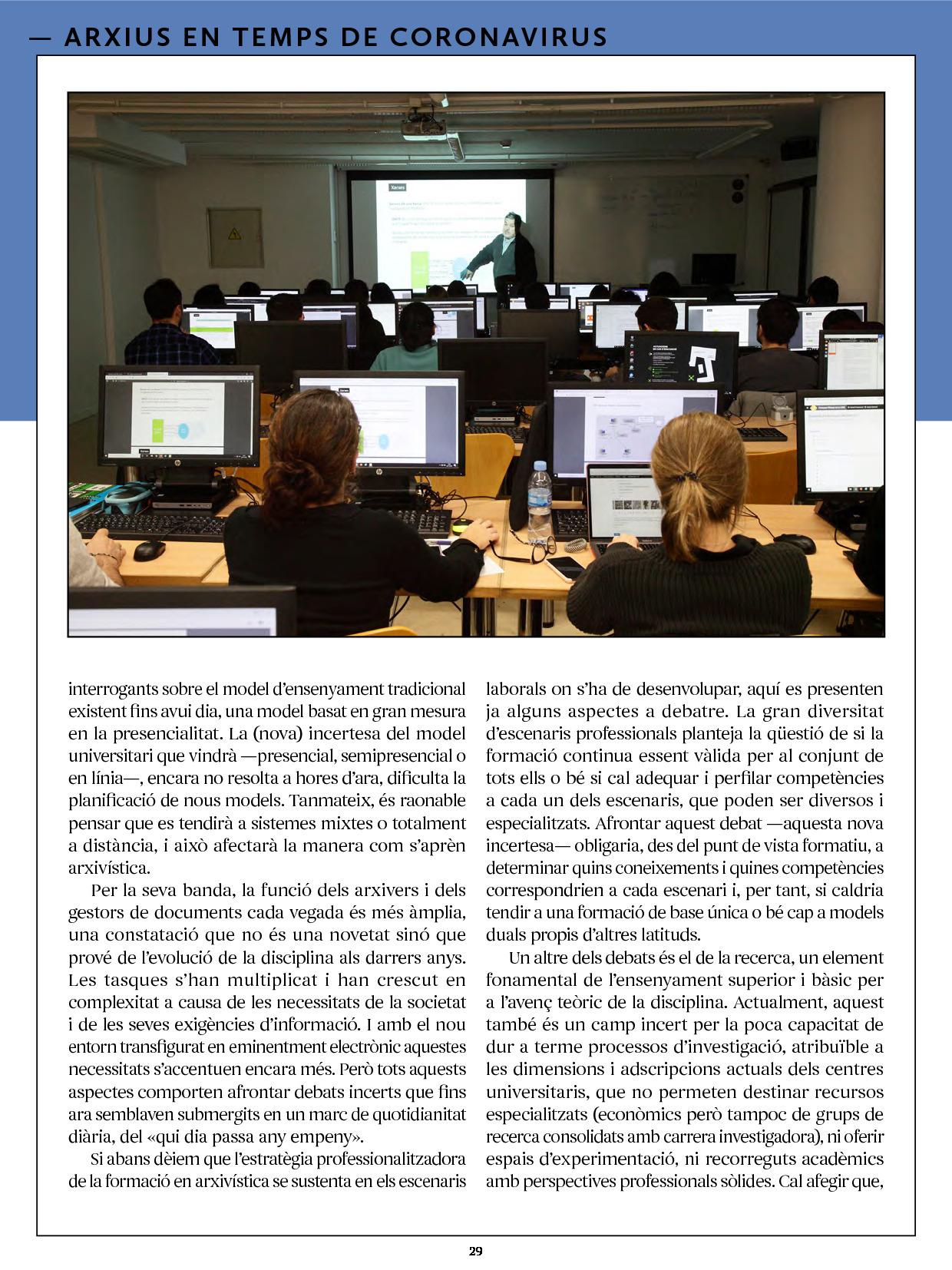Revista Núvol Dia Internacional dels Arxius 2020 2