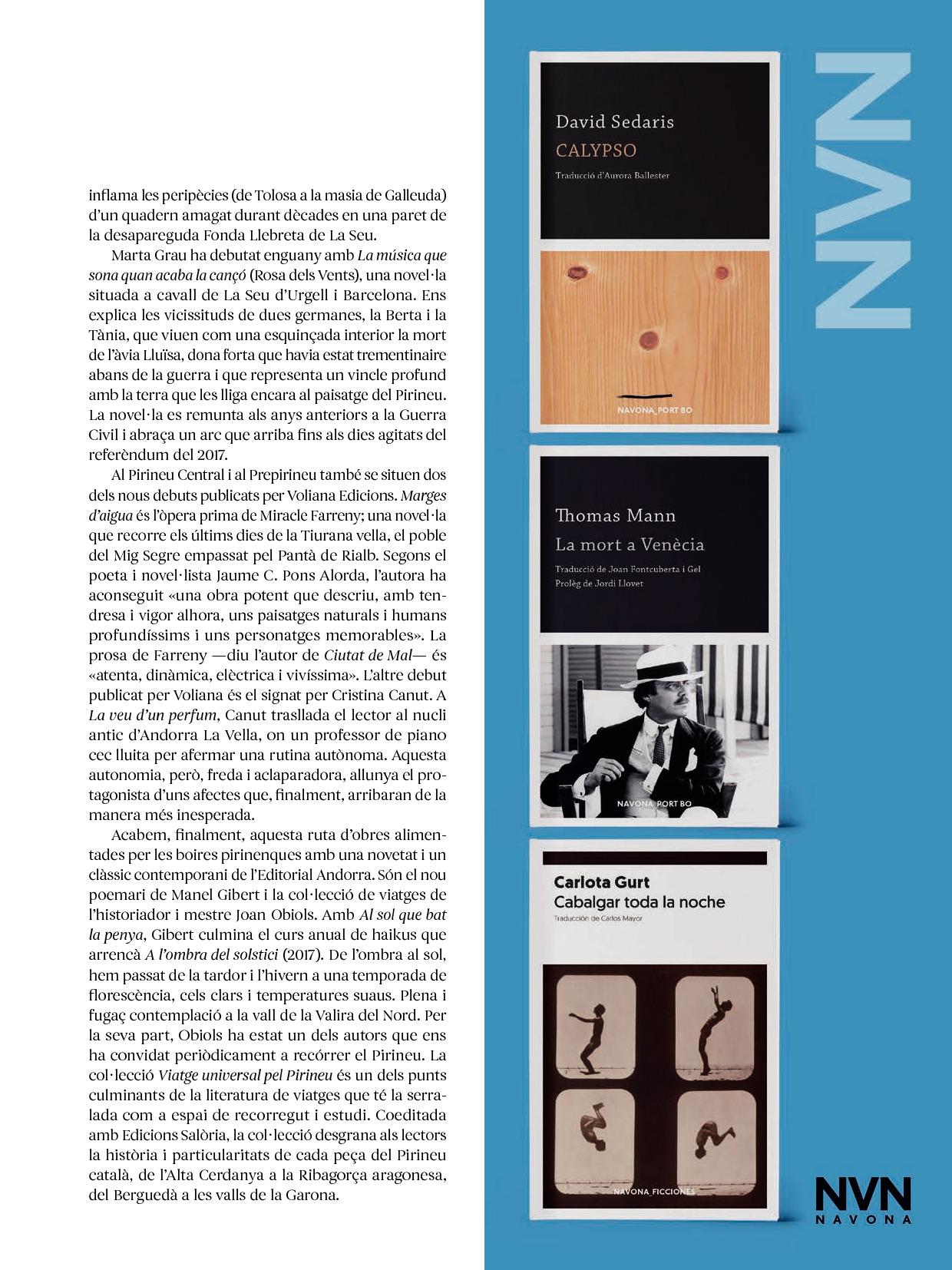Revista Núvol Setmana del Llibre en Català 3