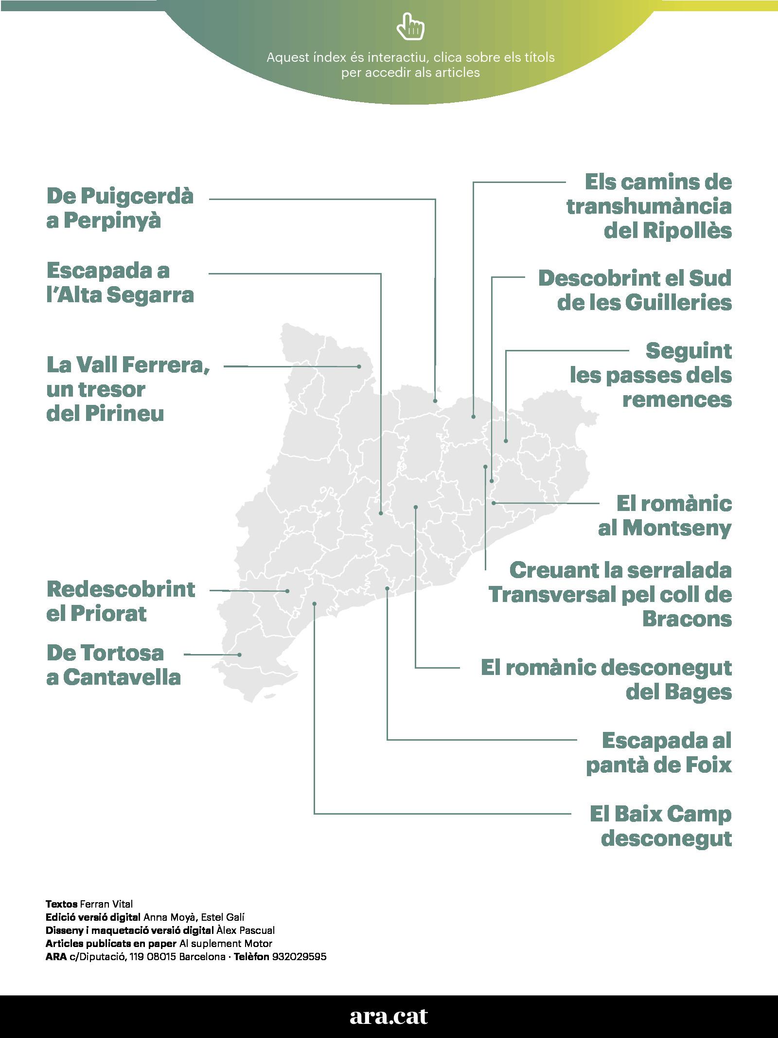 13 rutes en cotxe per Catalunya 1