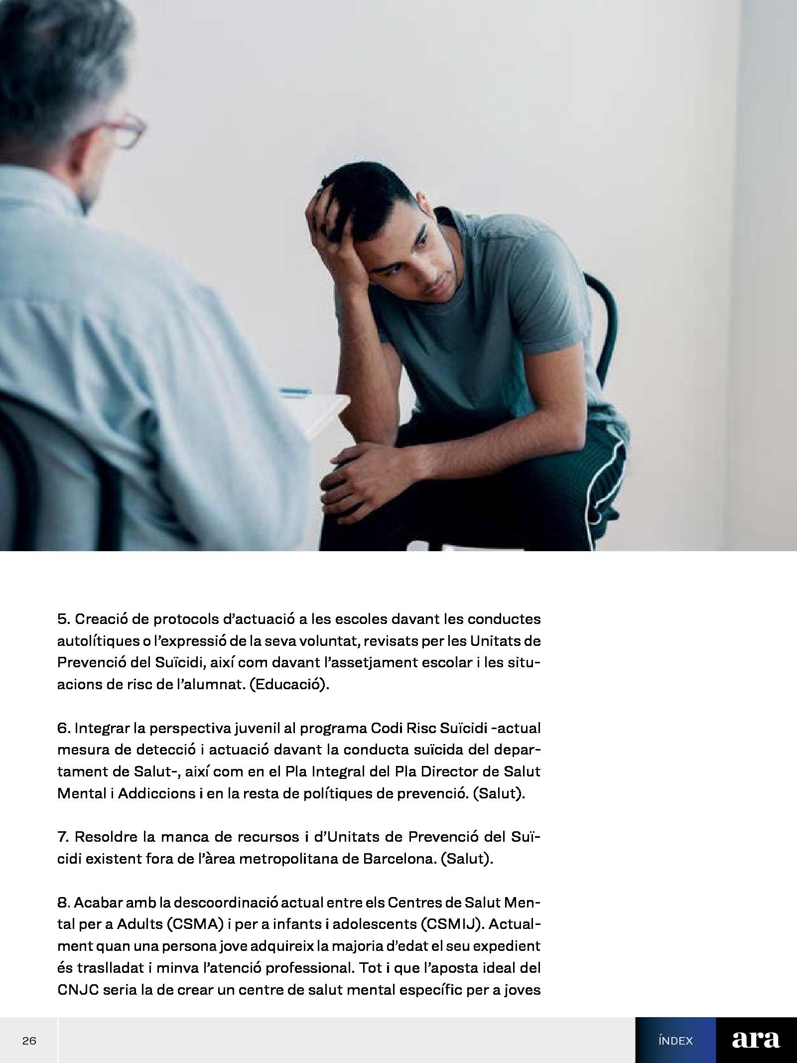 Suïcidis: trencar el silenci i ajudar a prevenir 3