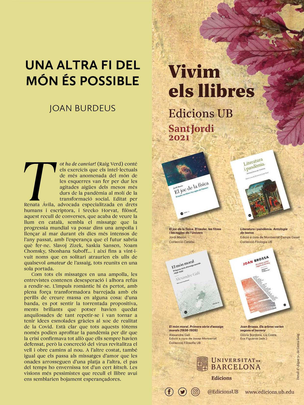 Revista Núvol Sant Jordi 2021 2