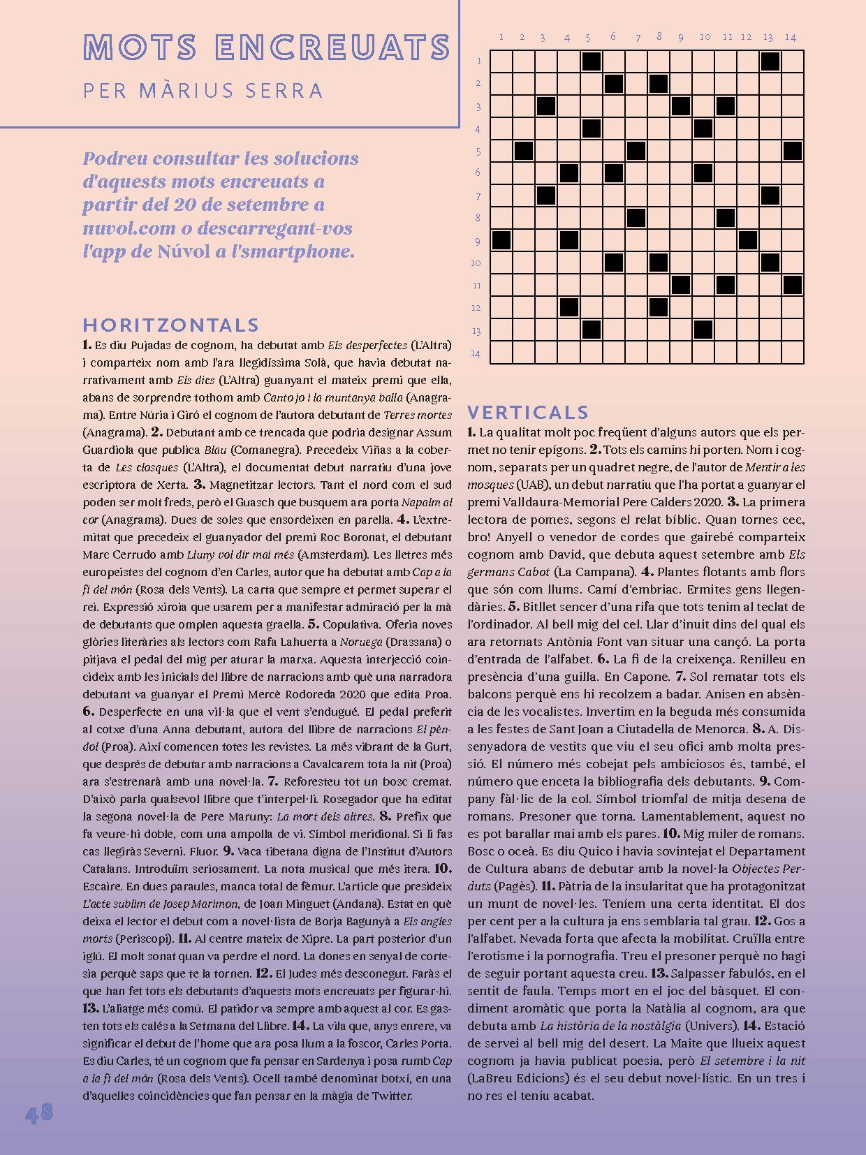 Revista Núvol Setmana del Llibre en Català 2021 3