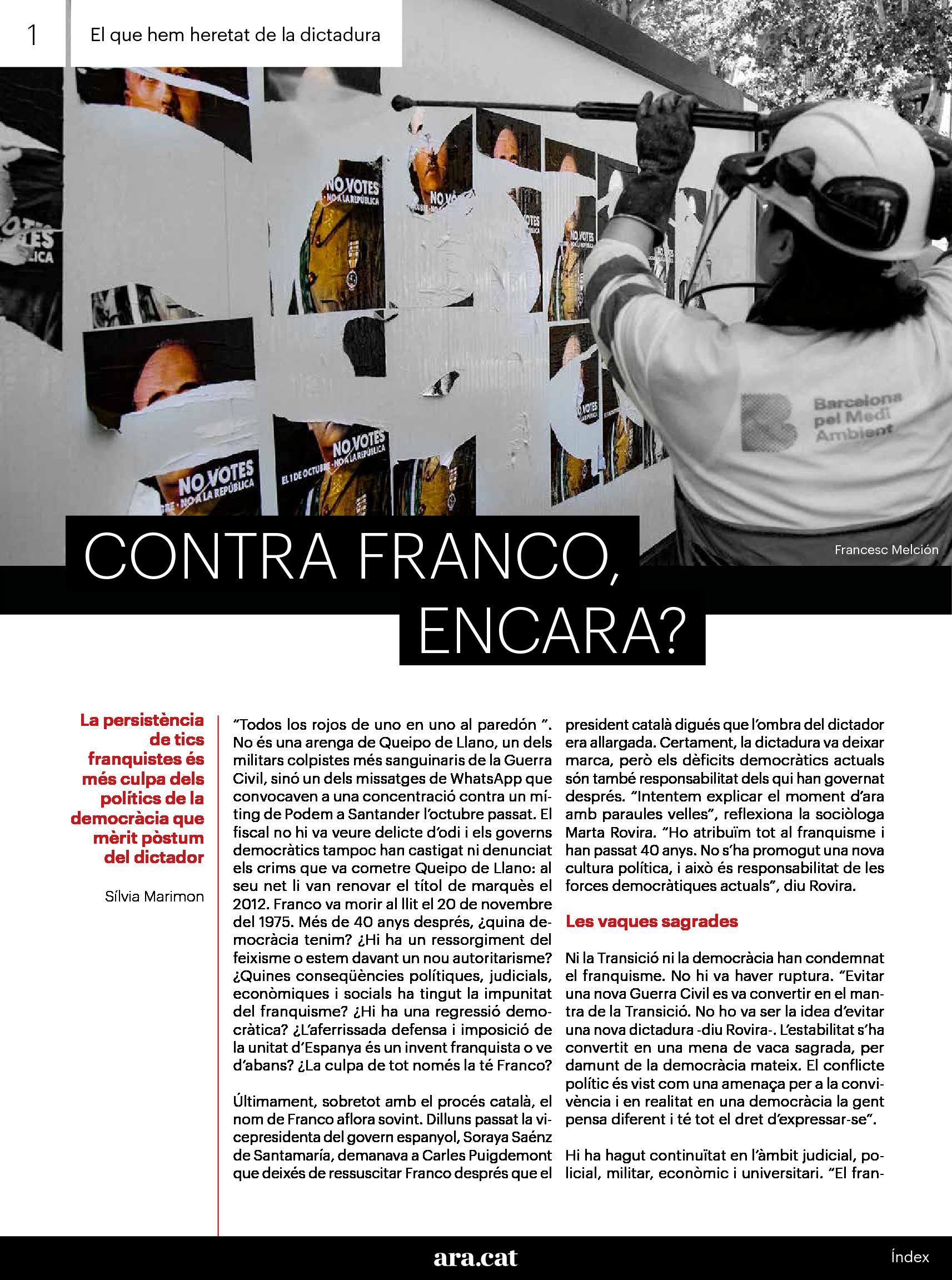 Contra Franco, encara. 2