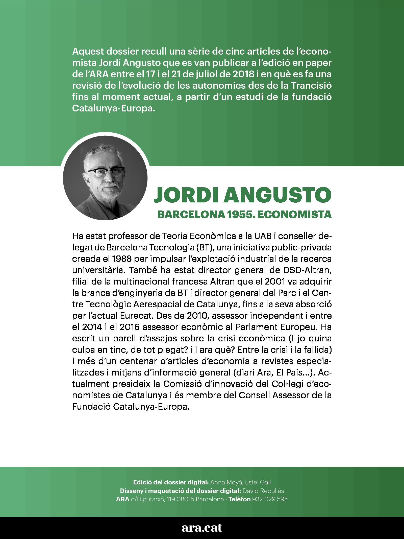 Radiografia econòmica de l'Estat de les autonomies 1