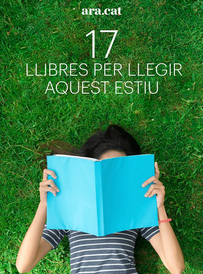 17 llibres per llegir aquest estiu