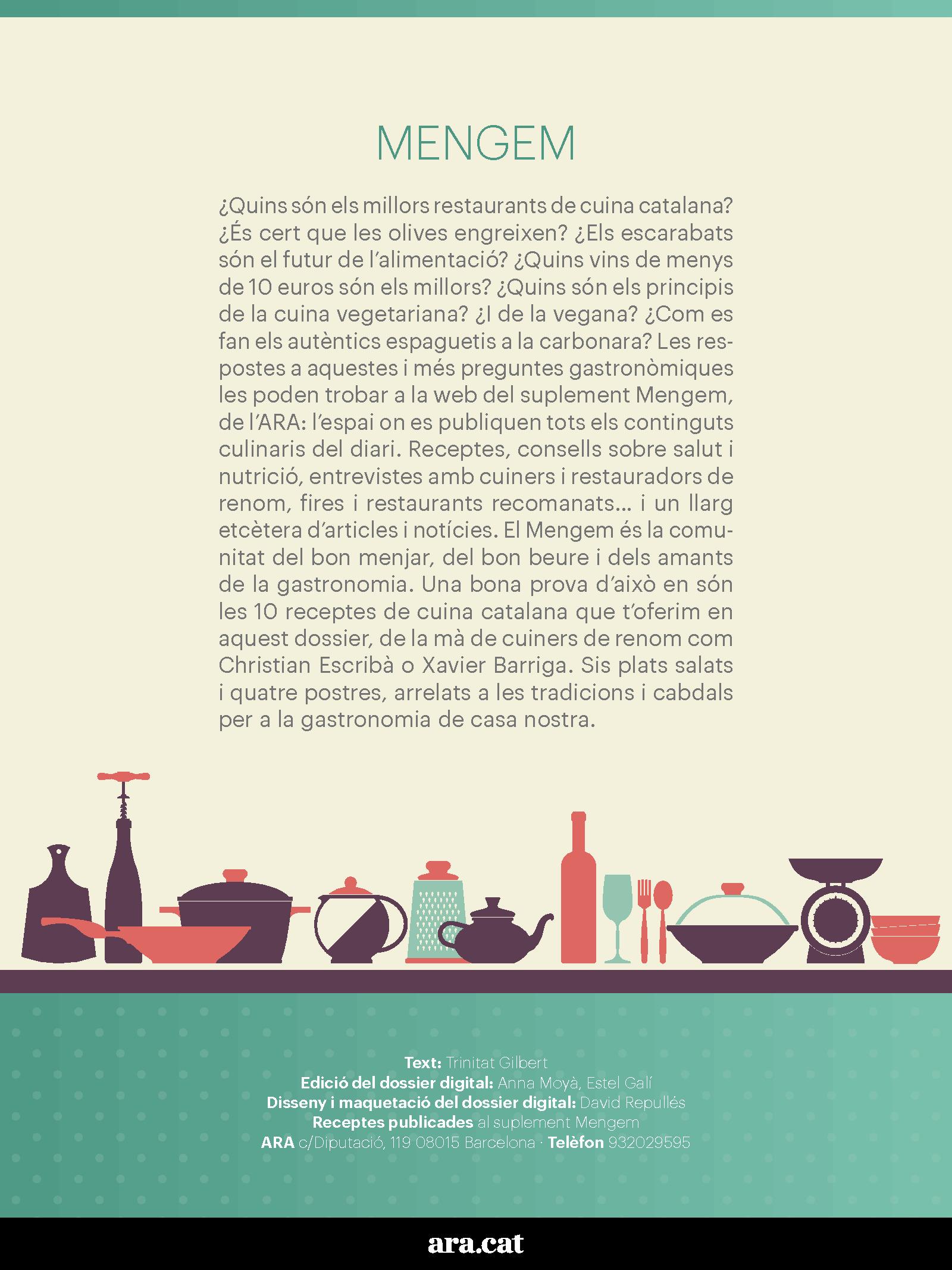 10 receptes de cuina catalana 1