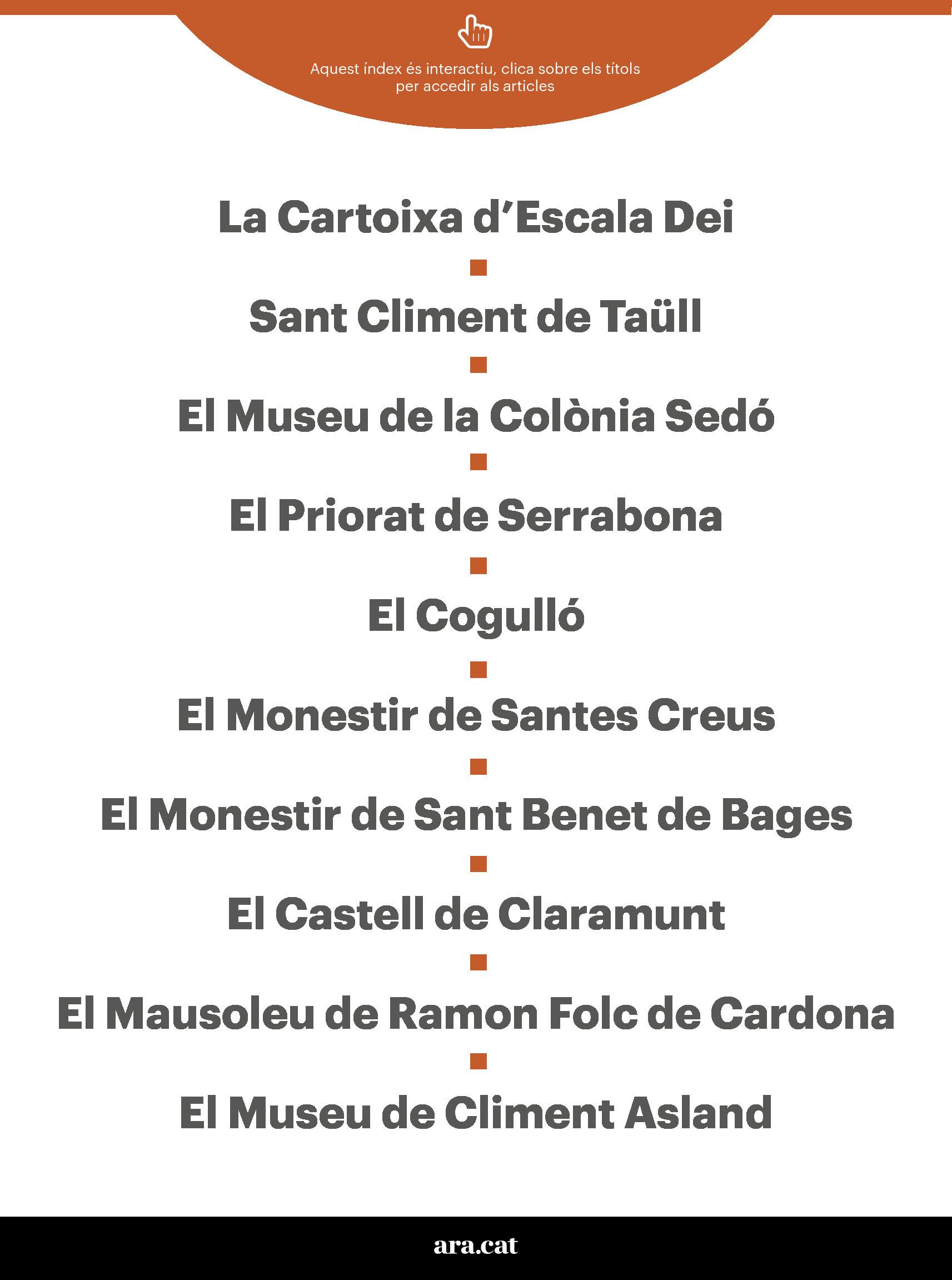 10 monuments de Catalunya per visitar... o revisitar 2