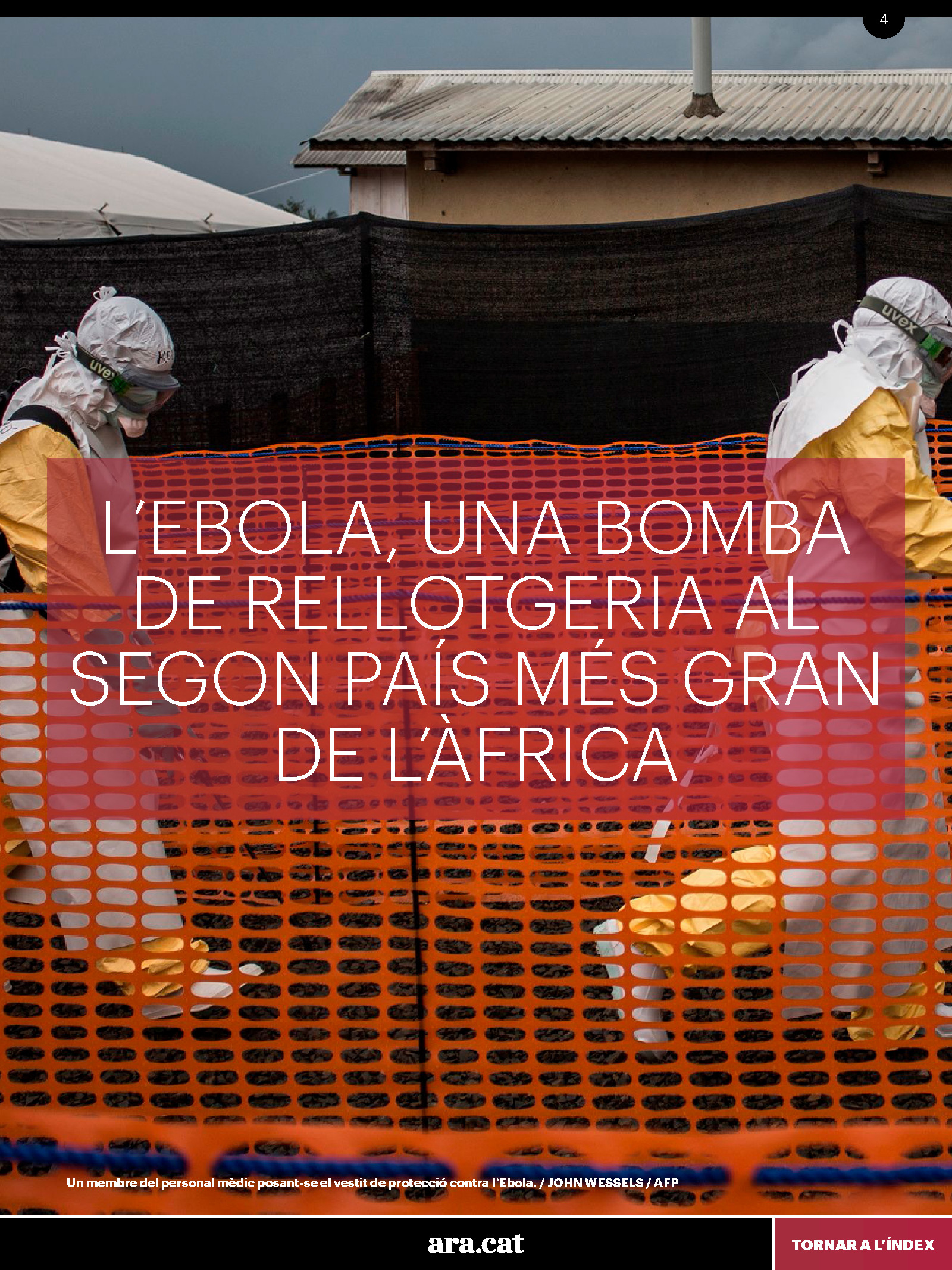Viatge de l'ARA a l'epicentre de l'ebola 3