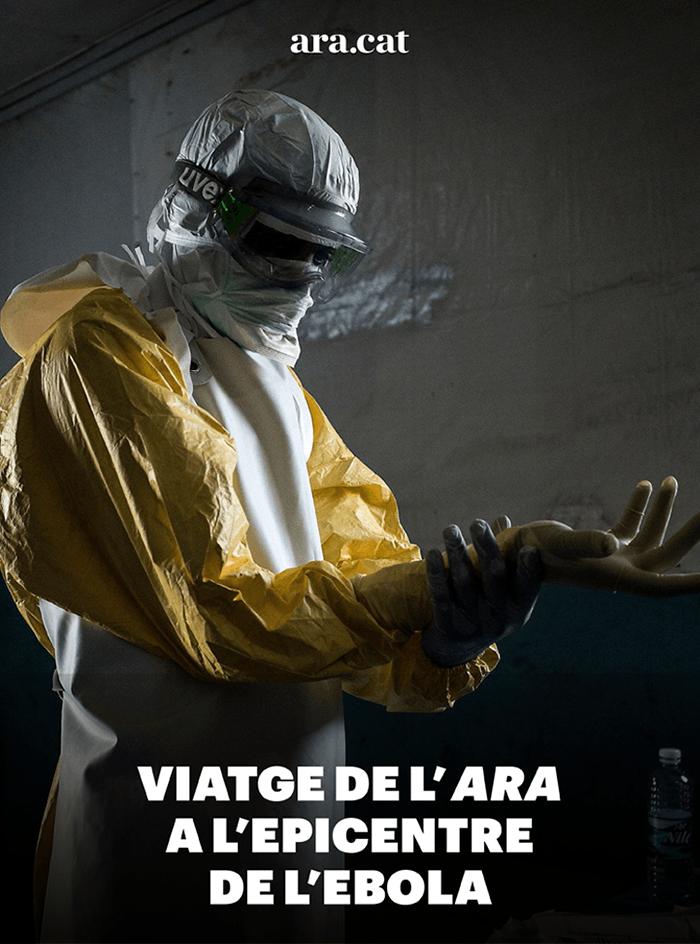Viatge de l'ARA a l'epicentre de l'ebola