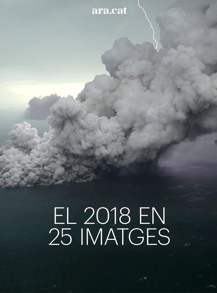 El 2018 en 25 imatges