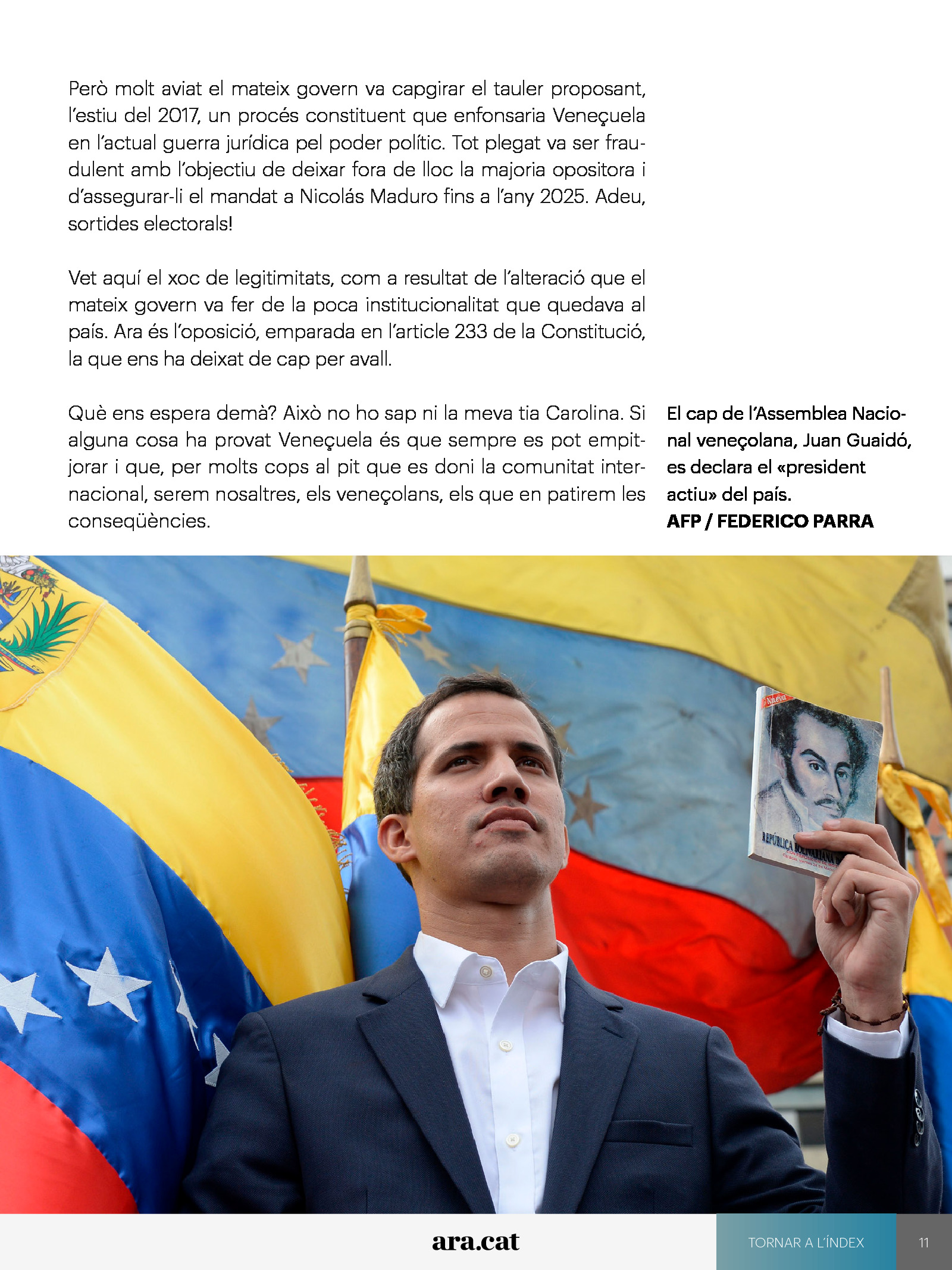 Veneçuela trontolla 1