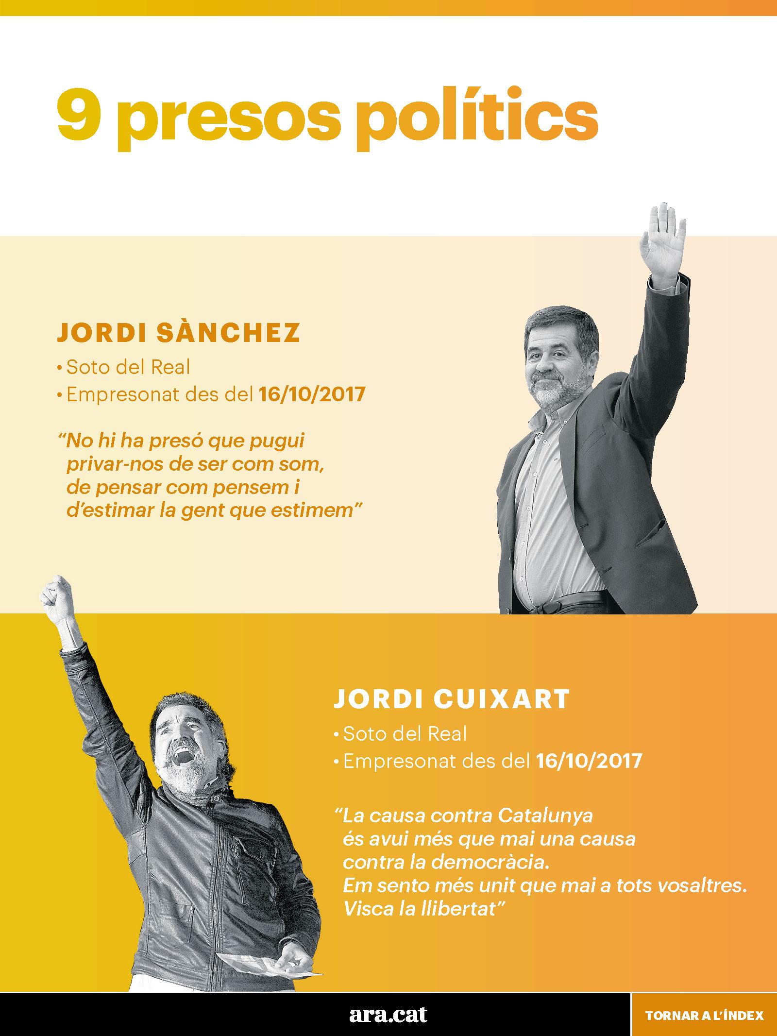 Els presos polítics del procés 3
