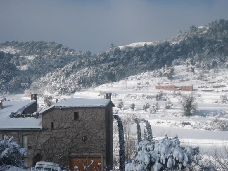 Castellterçol nevat.