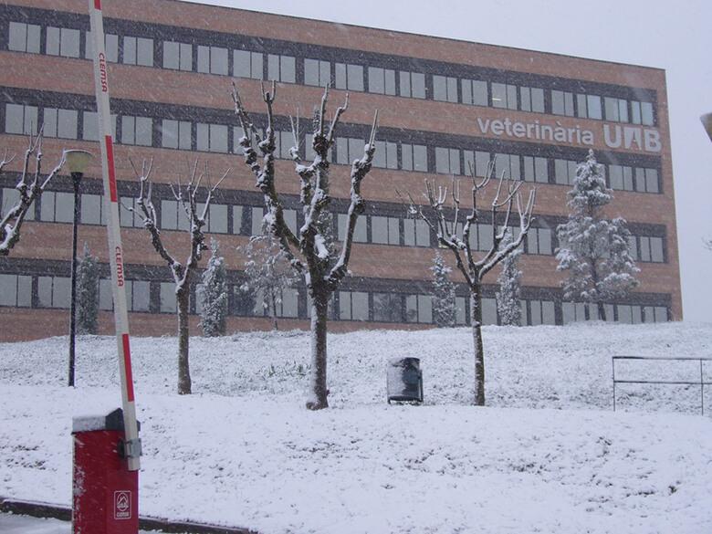 La facultat de Veterinària de la Universitat Autònoma. UAB