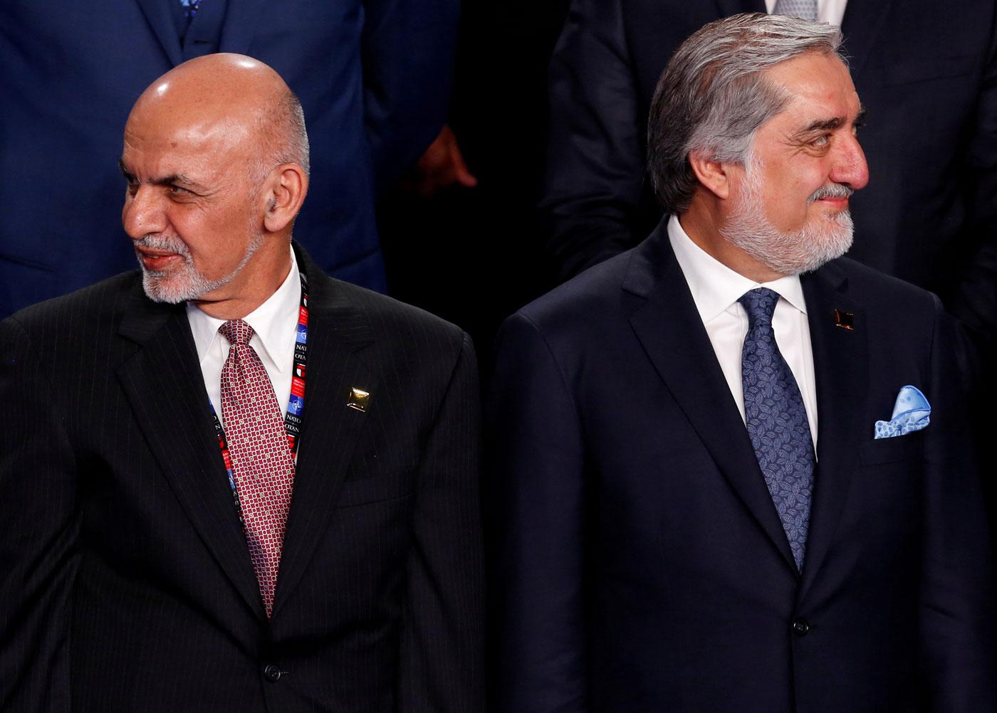 Aixraf Ghani i Abdul·lah Abdul·lah són els principals candidats a les eleccions presidencials que se celebren aquest dissabte a l'Afganistan